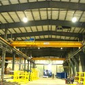 Three of nine 20/5 Ton Top Running Double Girder Cranes Supplied and installed by CRS CraneSystems.