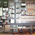 CRS custom designed, Variable Frequency bridge and trolley travel controls mounted in NEMA 4X stainless steel enclosure.
