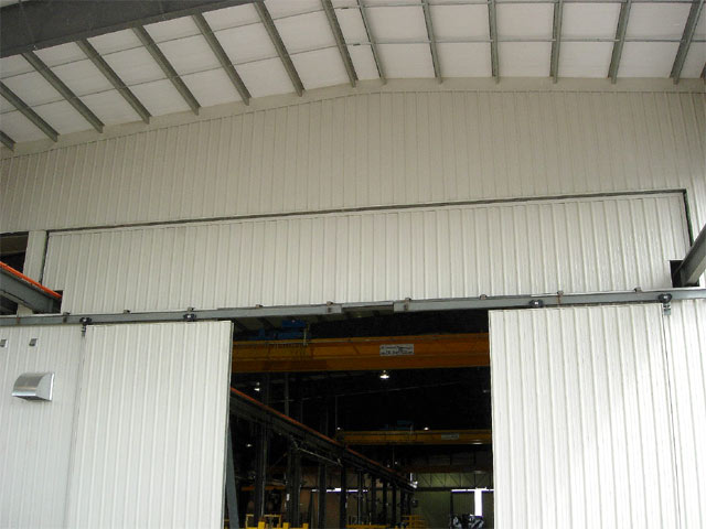 Industrial Crane Doors